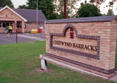 British Army – Chetwynd Barracks