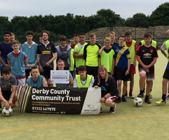 Derby County Community Trust – Get Started (TEAM programme)